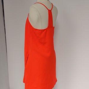Tinley Road orange knit dress-sz M